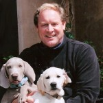 David Reinecker training puppies