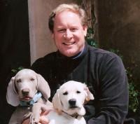 David Reinecker training puppies